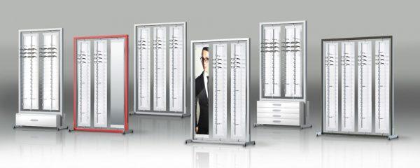 Επιδαπέδια stand και συστήματα SHOP-IN-SHOP